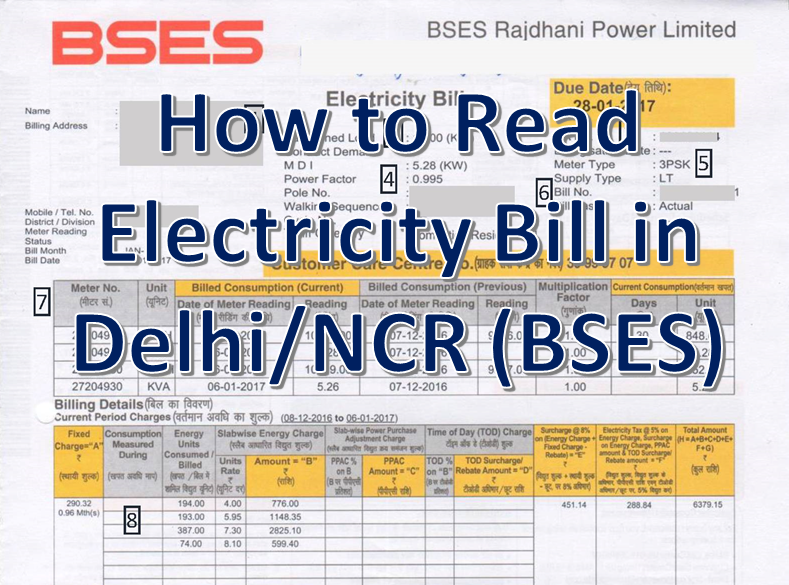 delhi electricity bill, electricity bill payment, pay electricity bill, online electricity bill, online electricity bill payment, BSES bill description, how to read BSES electricity bill, BSES payment, BSES bill payment, BSES bill, BSES bill pay, bijli bill, bijli bill check, online bijli bill