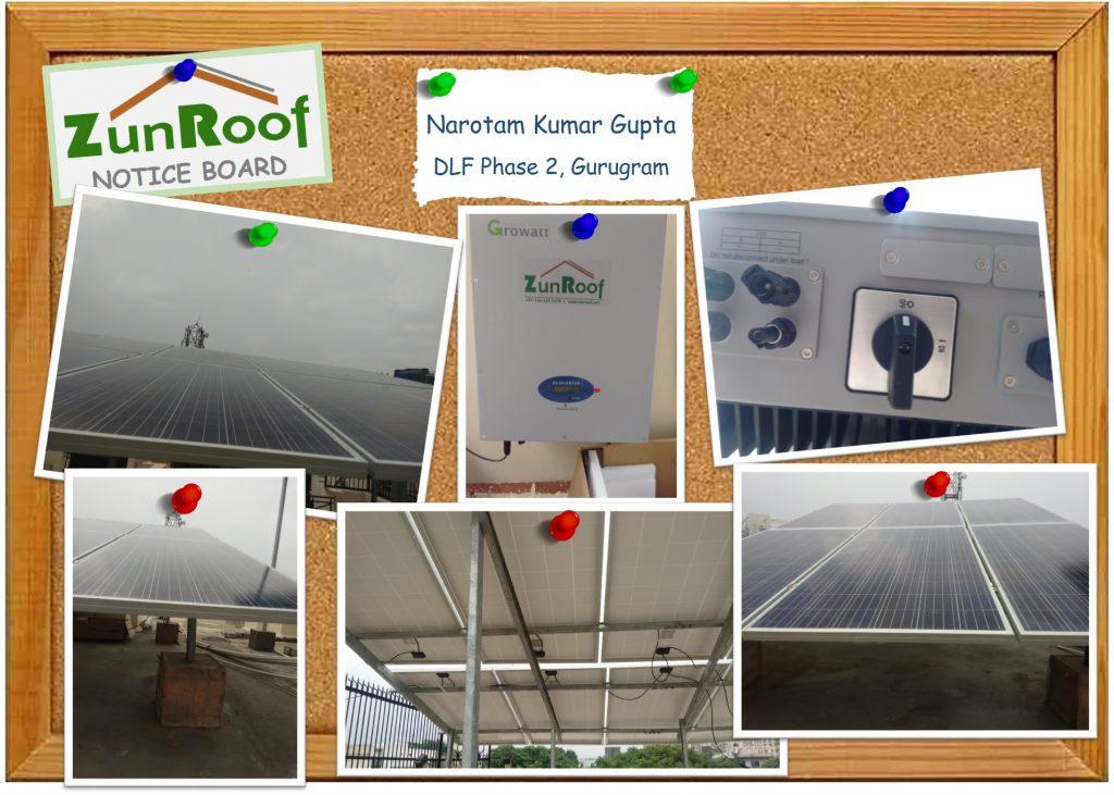 Solar Installation in Gurugram