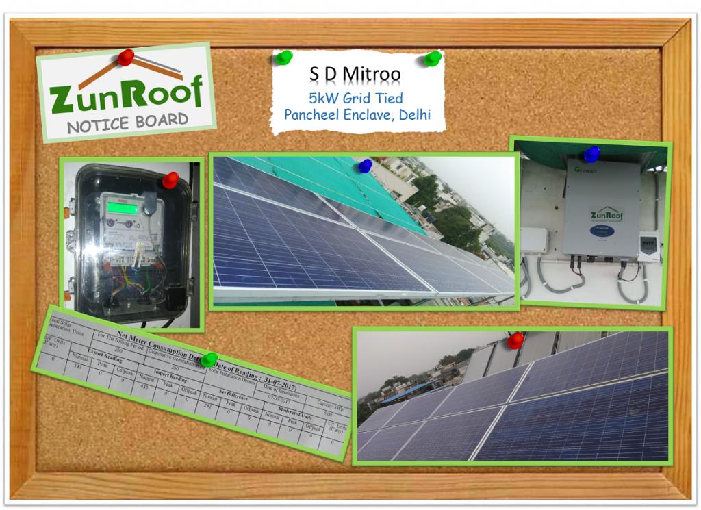 Solar in Panscheel Enclave Delhi