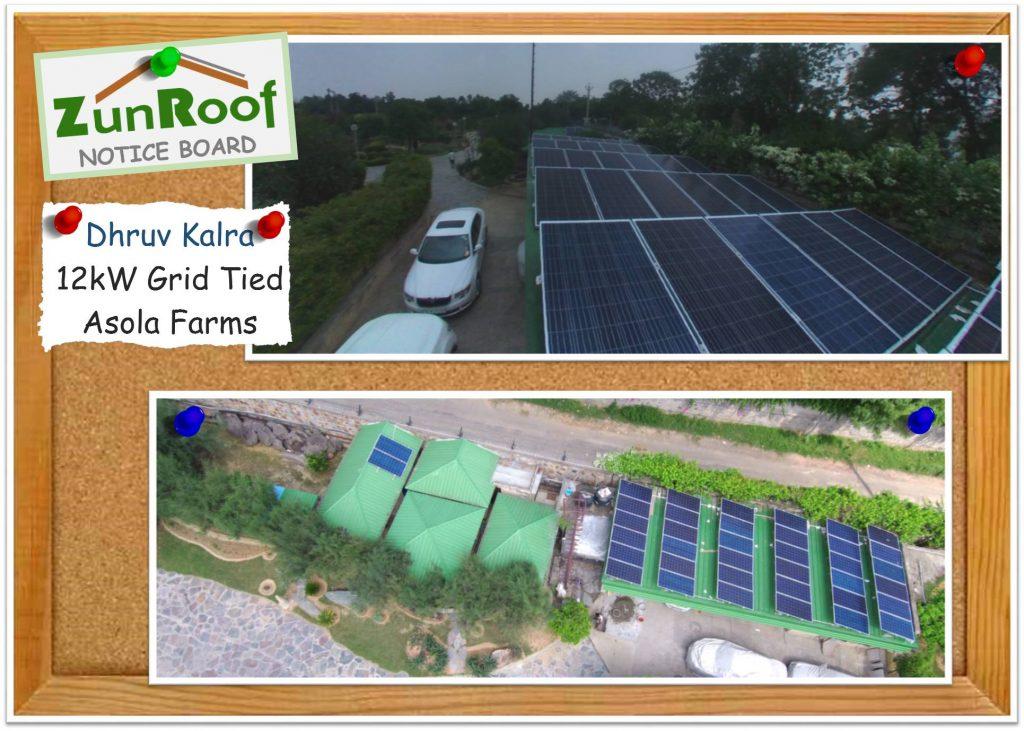 Solar in Asola Farms
