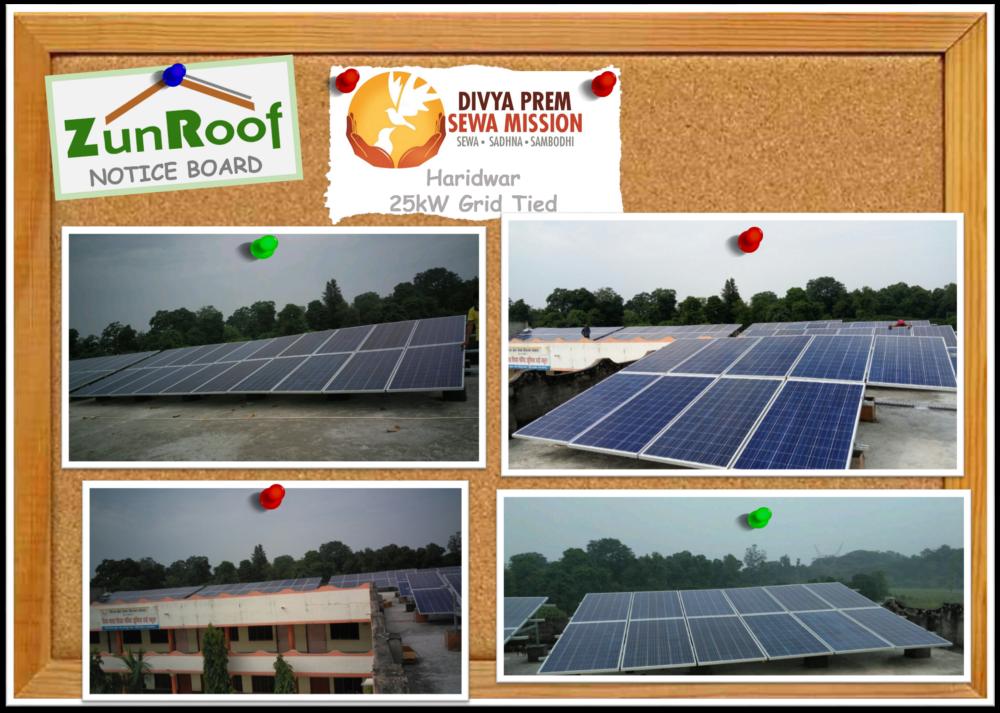 Divya Prem Seva Mission, Solar in Haridwar, Solar panel, solar energy