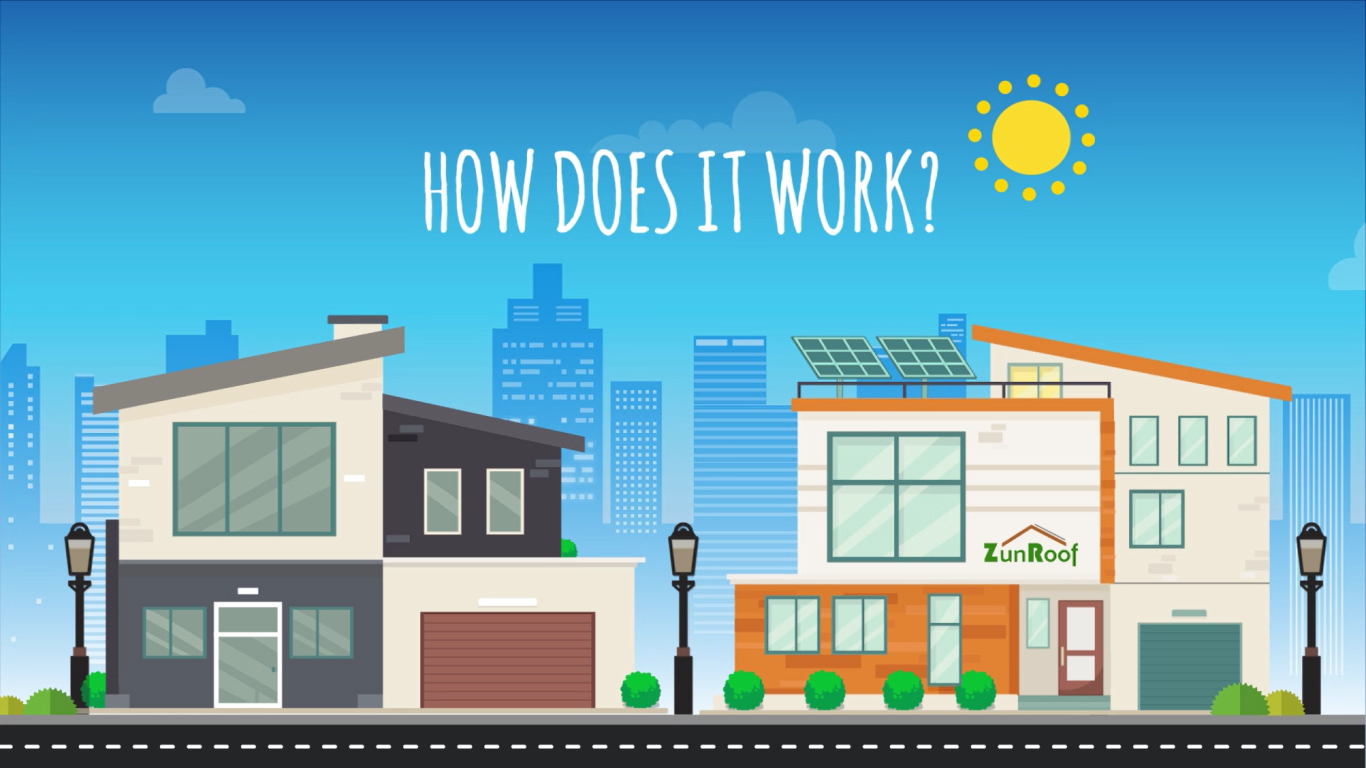 How Does a Solar Rooftop System Work?