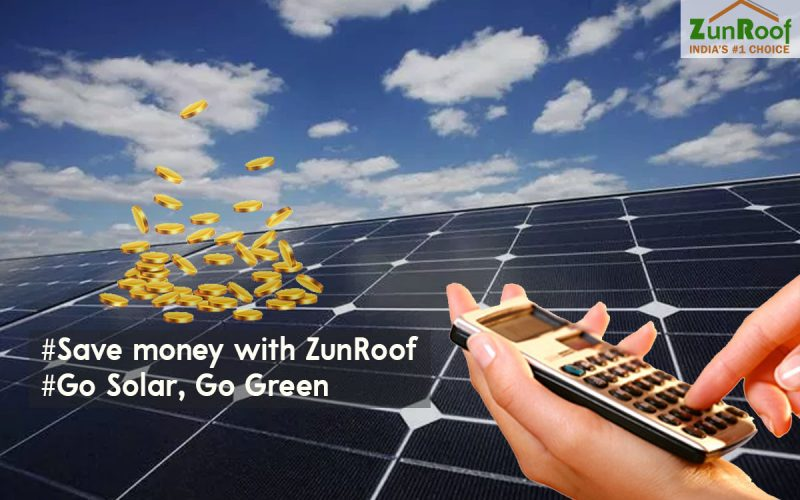 Save money- ZunRoof!