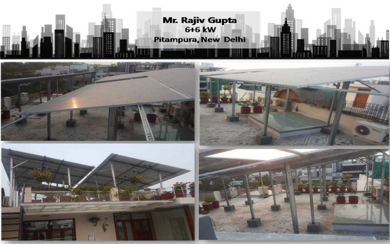 Solar in New Delhi–Mr. Rajiv Gupta–Happy ZunRoof Client!