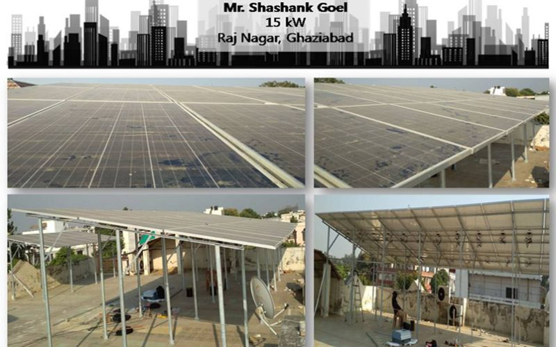 Solar in Ghaziabad–Mr. Shashank Goel–Happy ZunRoof Client!