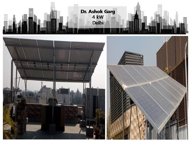 Solar in Delhi–Dr. Ashok Garg–Happy ZunRoof Client!