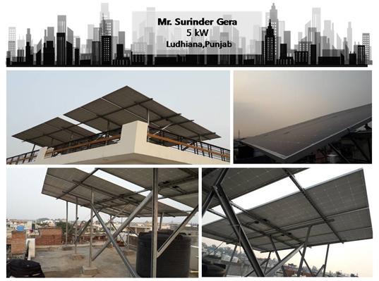 Solar in Ludhiana – Surinder Gera – Happy ZunRoof Client!