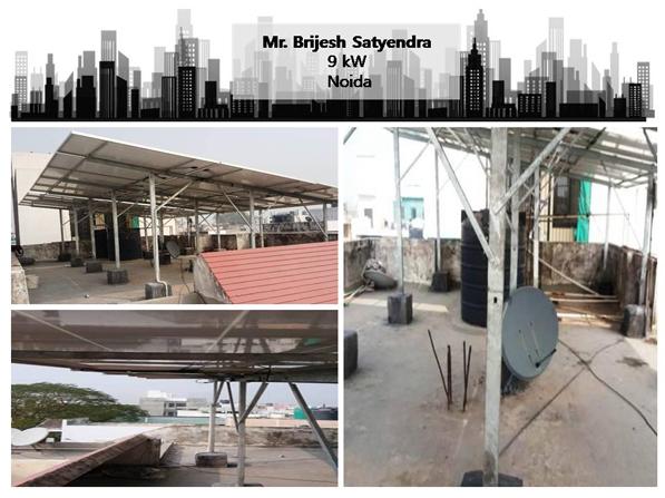 Solar in Noida- Brijesh Satyendra- Happy ZunRoof Client!