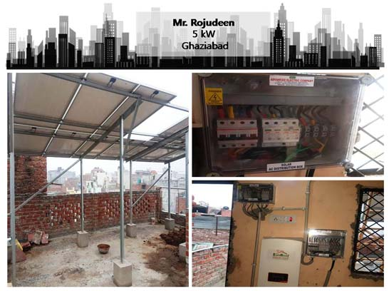 Solar in Ghaziabad- Rojudeen – Happy ZunRoof Client!