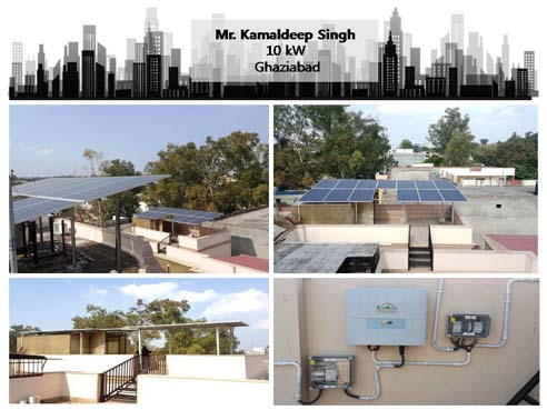 Solar in Ghaziabad- Kamaldeep Singh – Happy ZunRoof Client!