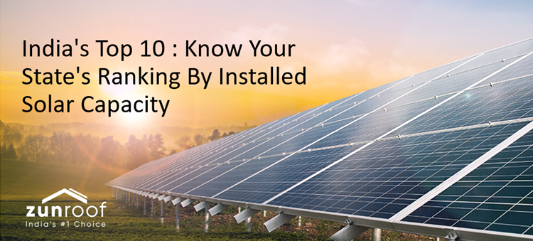 India's Top 10 : Know Your State's Ranking By Installed Solar Capacity