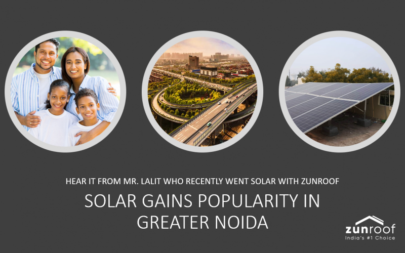solar roof at home gains popularity in greater noida