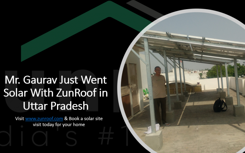 ZunRoof Powers Up A Roof in Punjab! Cheers!