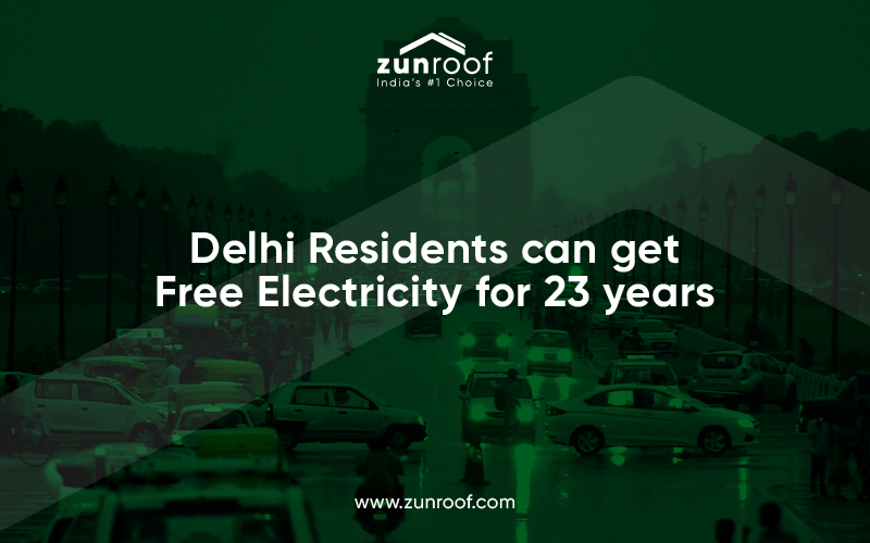 delhi residents free electricity for 23 years